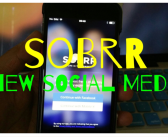 Sobrr = Newest (and Coolest) Social Media (iOS)