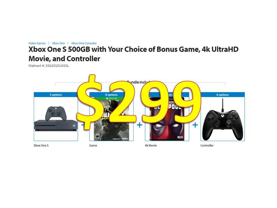 Walmart xbox one bundle deals - Iup coupons
