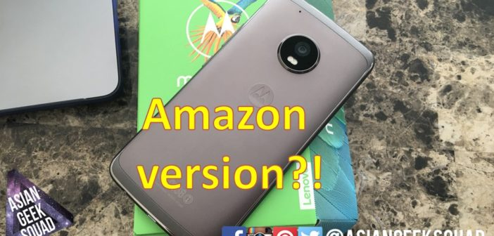 Moto G5 Plus – Amazon version – What's the difference?