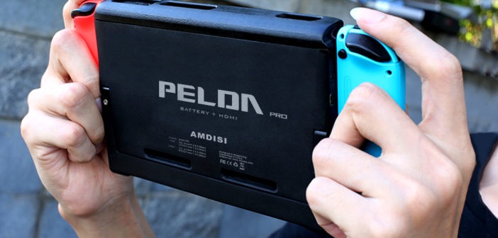 PELDA Pro – The Nintendo Switch HDMI Battery Case