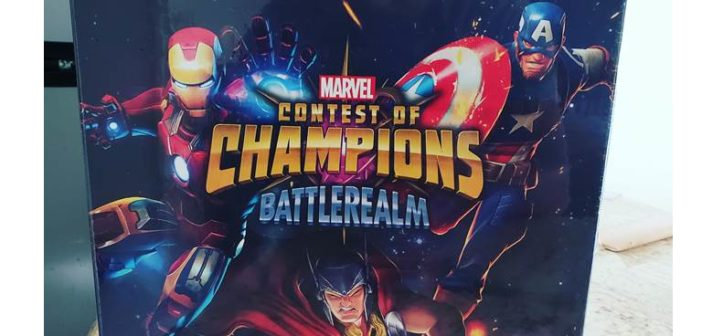 Unboxing: Marvel Contest of Champions: Battlerealm