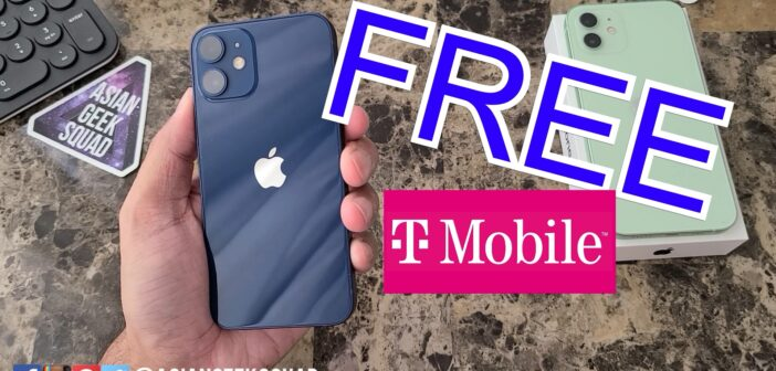 Get the iPhone 12 mini for FREE from T-Mobile (no new line required)