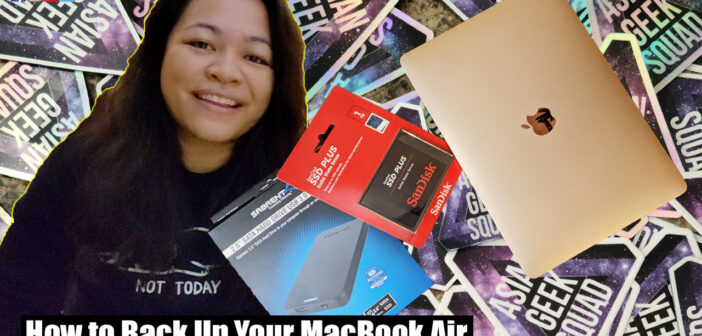 How to Back Up Your 2020 M1 MacBook Air