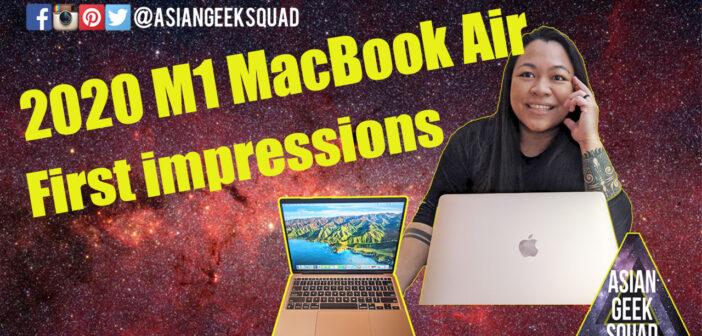 2020 M1 MacBook Air – First Impressions